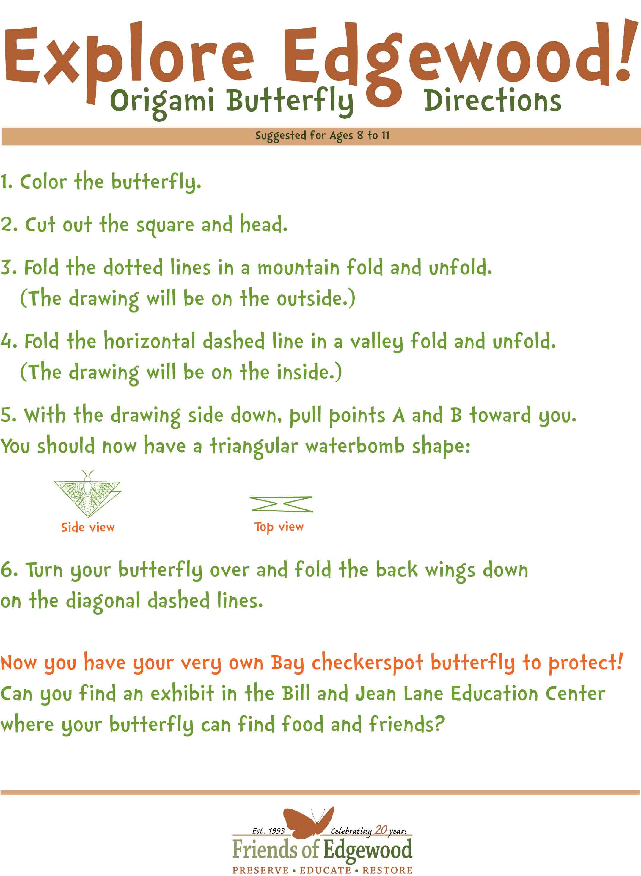 Origami Swallowtail Butterfly Instructions Step By Step - All ...   2944x2156